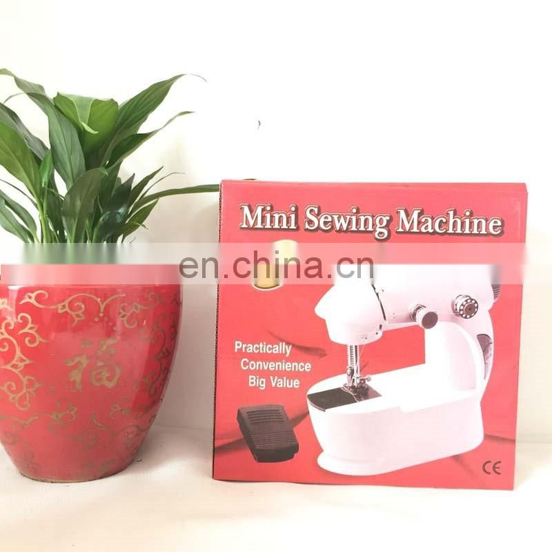Mini 2-Speed manual Sewing Machine with Foot Pedal, Purple