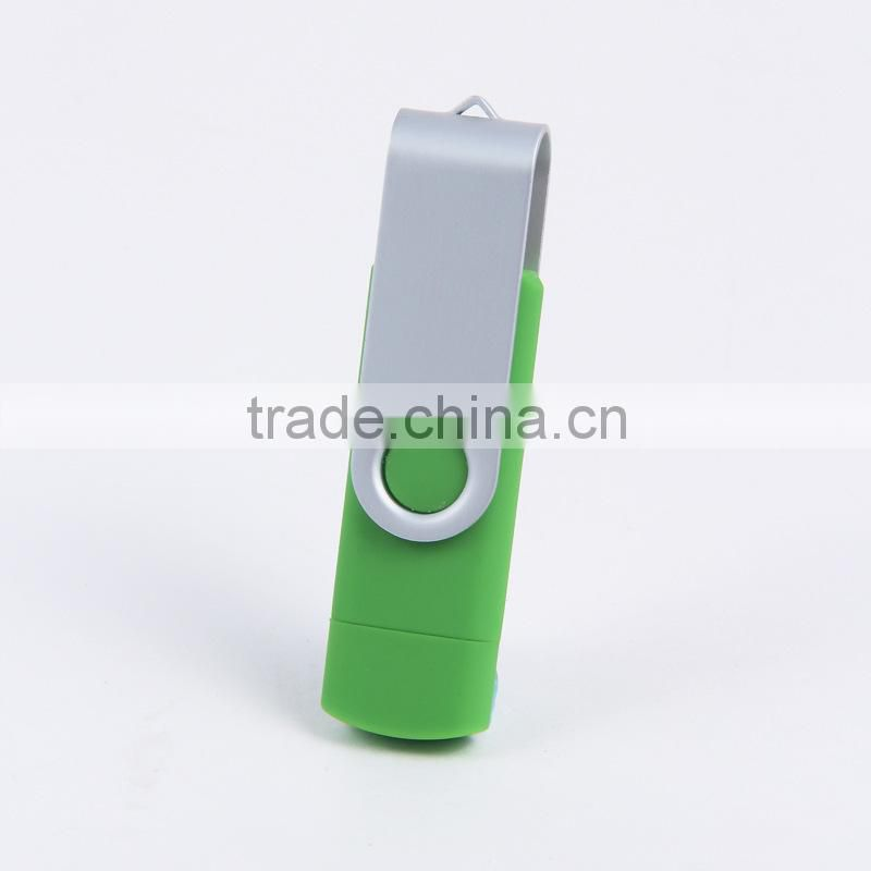 Colorful promotional gift custom logo branded smart phone 8GB, 16GB otg usb flash pen drive memory stick
