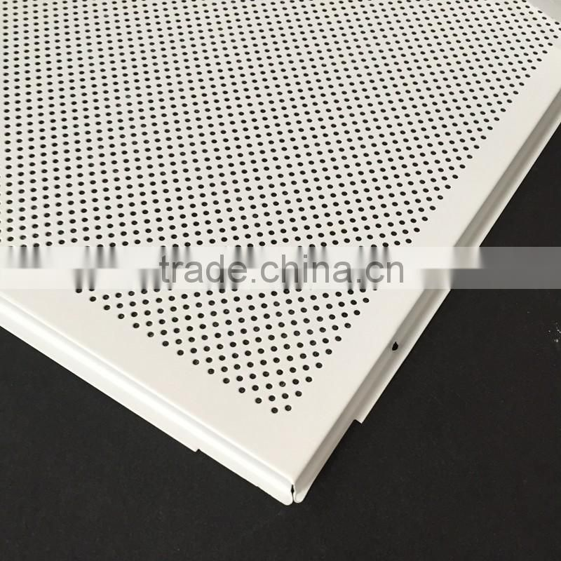 Sound Absorption Acoustic 600x600 Modern Perforated Metal