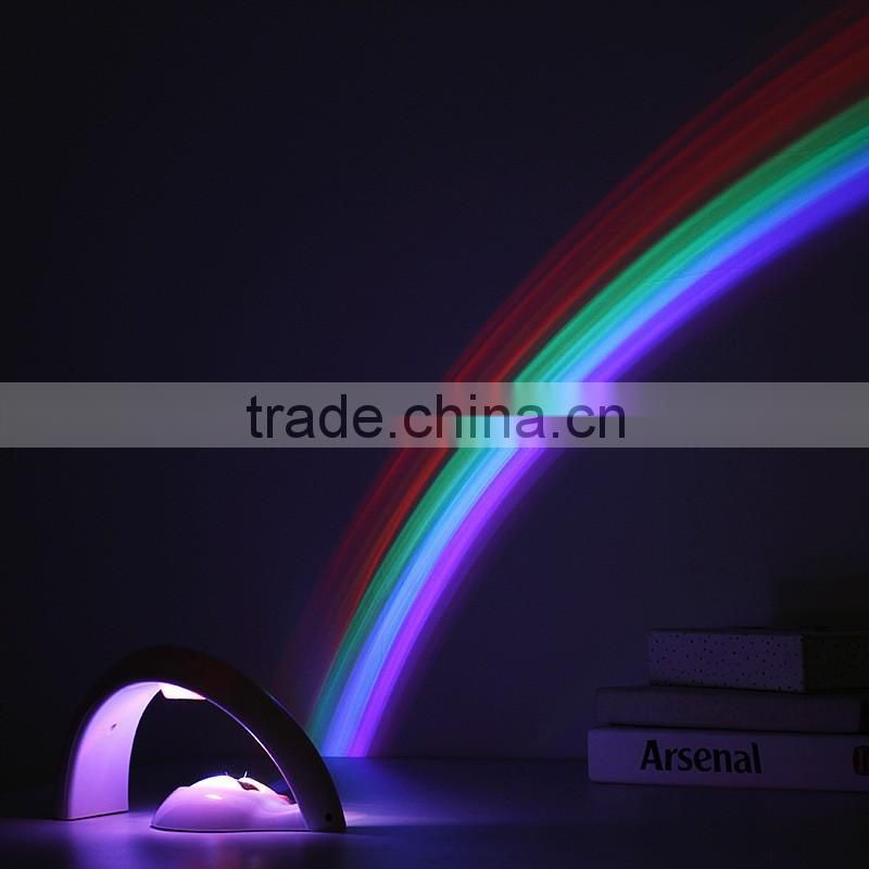Baby Sleeping Aid Night Light Magic Colorful Rainbow Light Projector /Night Light For Kids