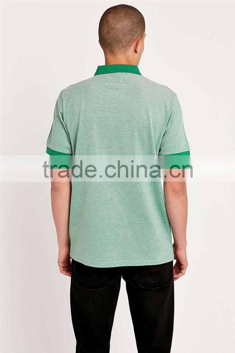 Custom Green Plain Polo Shirt Cheap Uniform Dri Fit Mens Wholesale