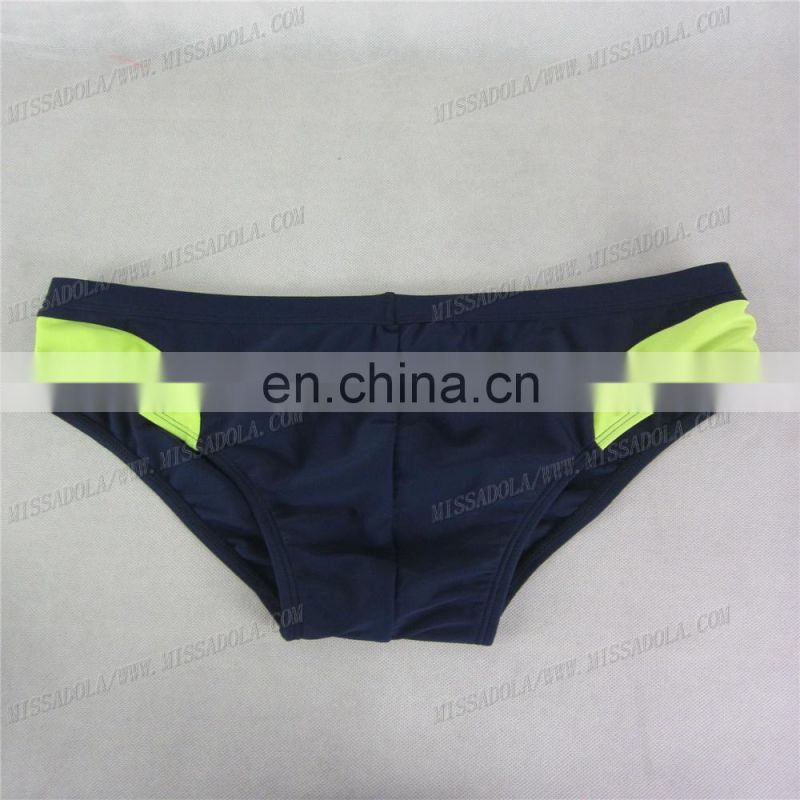 miss adola YD - SM - B01 dark blue latest sexy men swimwear hot swim brief