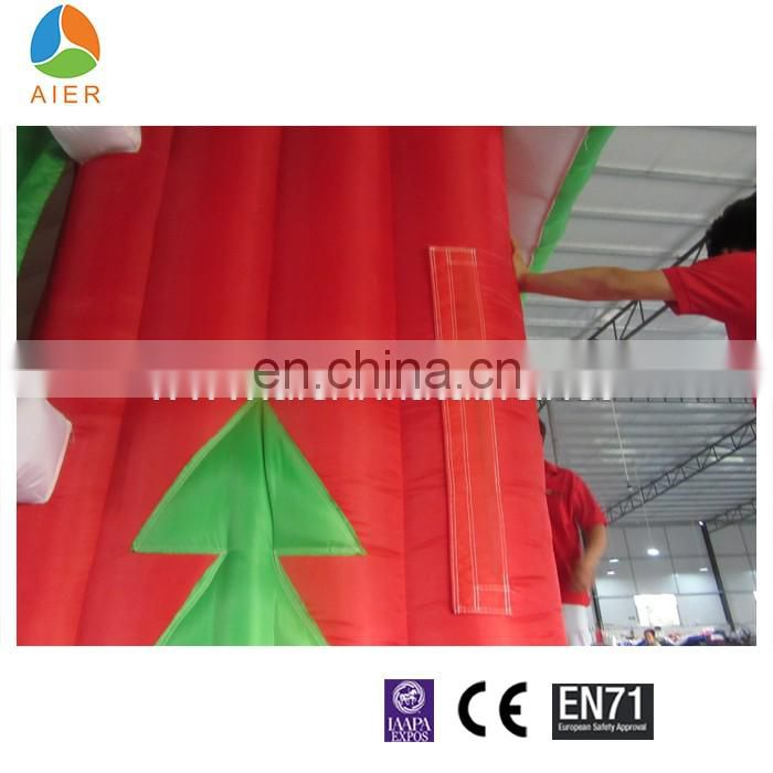 3x3m Christmas decoration inflatable christmas House For sale