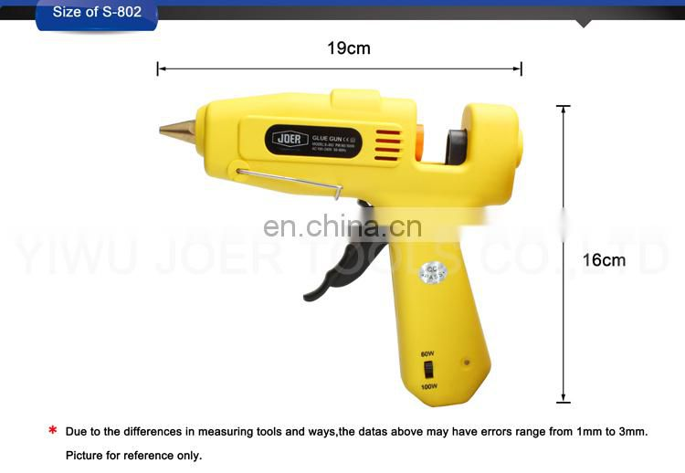 S-802 60w/80w/100w china hot melt silicone glue gun applicator
