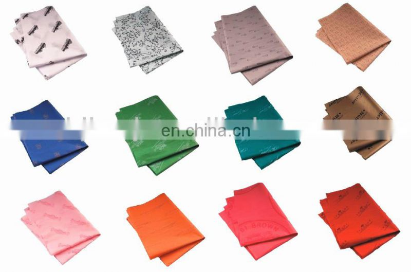 color printed tissue paper for shoes