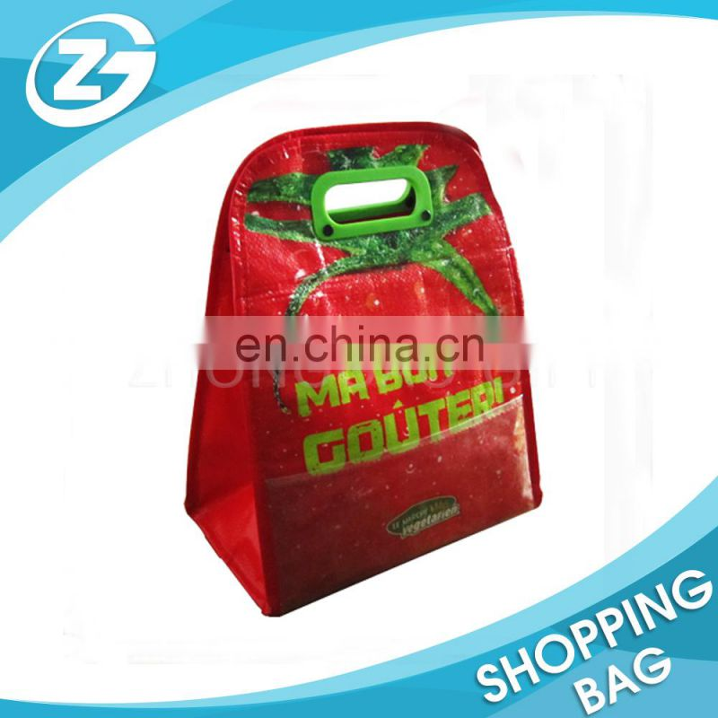 Cheap Promotional Convenient PP WOVEN Insulated Collapsible Cooler
