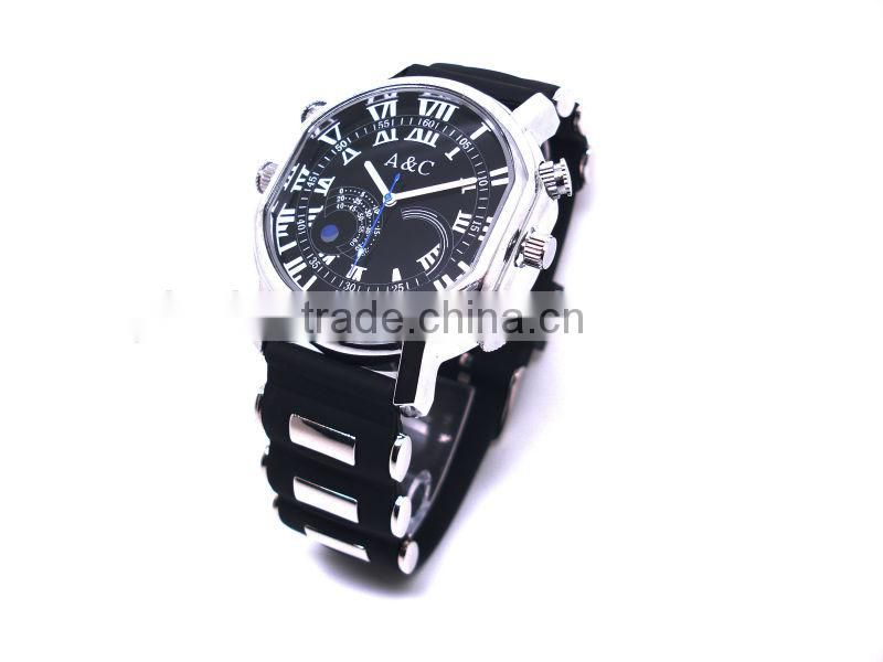 H.264 720P HD Watch Camera Watch DVR Wristwatch Camera