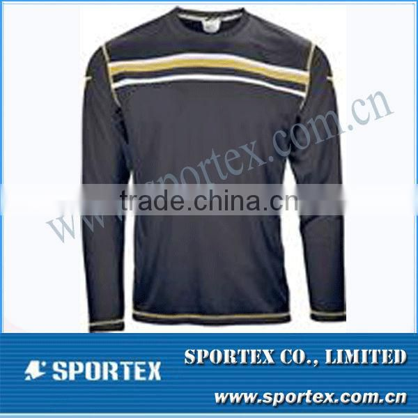 Popular Long-sleeved Soccer Jersey Men's T Shirt MZ0092