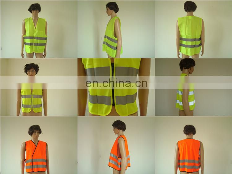 Security CE Standard Reflex Colorful EN471 Emegency Vest For Sale
