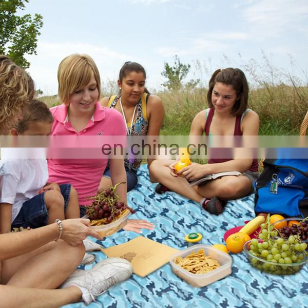 Waterproof foldable picnic mat, outdoor camping mat,fashion portable picnic blanket