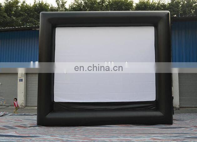 giant inflatable outdoor movie screen for film festival / inflatable movie screen home / inflatable movie screen outdoor theater