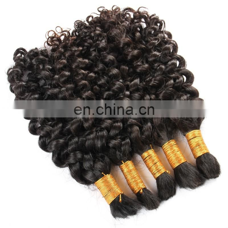 10-34inch 8A Best Quality Original Brazilian Human Hair Afro Kinky Bulk Human Hair Afro Kinky Hair For Braiding