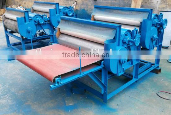 Good condition used cotton quilt clothes recycling machine/waste fabric textile recycling machine