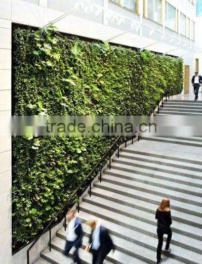 factory price new designed high quality artificial plant wall/fake green walls