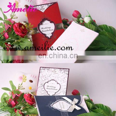 Wedding invitation cards models