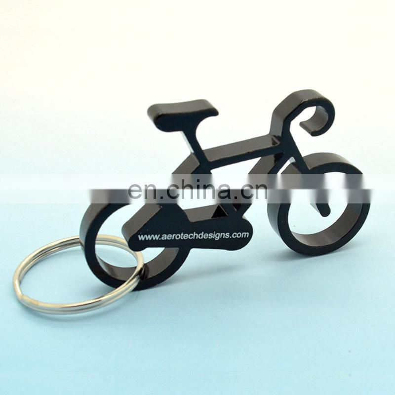 Custom shape metal creative bottle opener