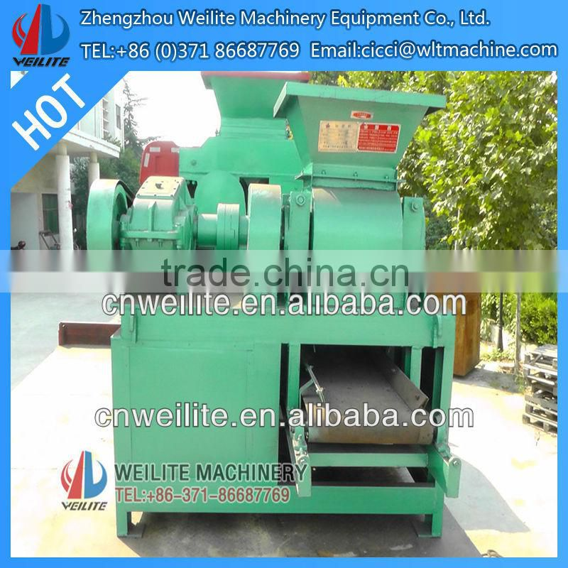 Factory Supply Large Capacity Coal Charcoal Powder Oval Shape Ball Briquette Press Machine