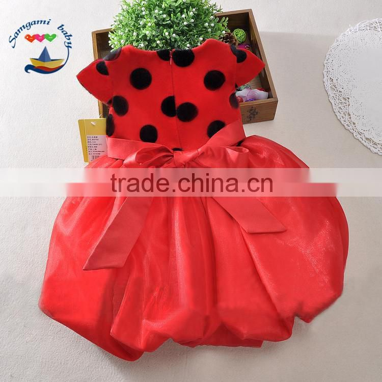 2015 new product Christmas factory direct sales wholesale baby girl christmas dress christmas tutu dress