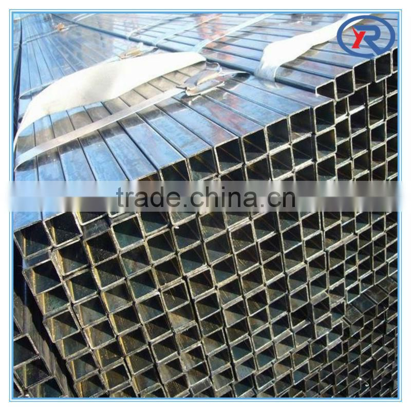 Galvanized carbon hollow steel tube ms square tube