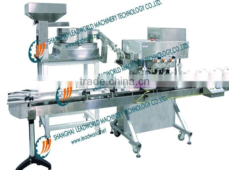 Stainlees steel semi auto capping machine