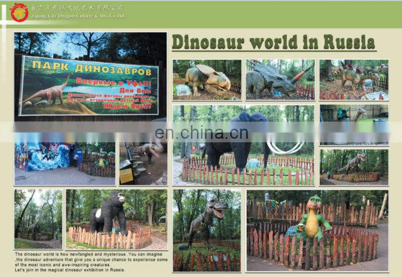 2016 Popular walking dinosaur costume for amusement park
