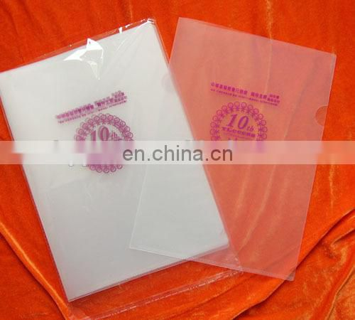 cheaper clear plastic transparent folders