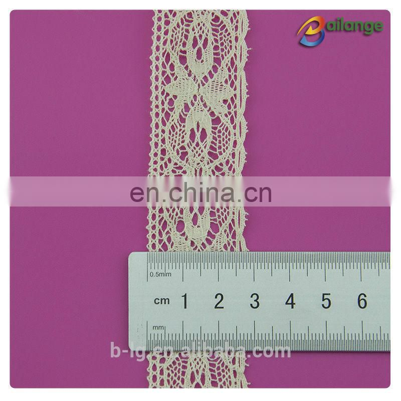 Machine made lace 100% cotton lace front wholesale
