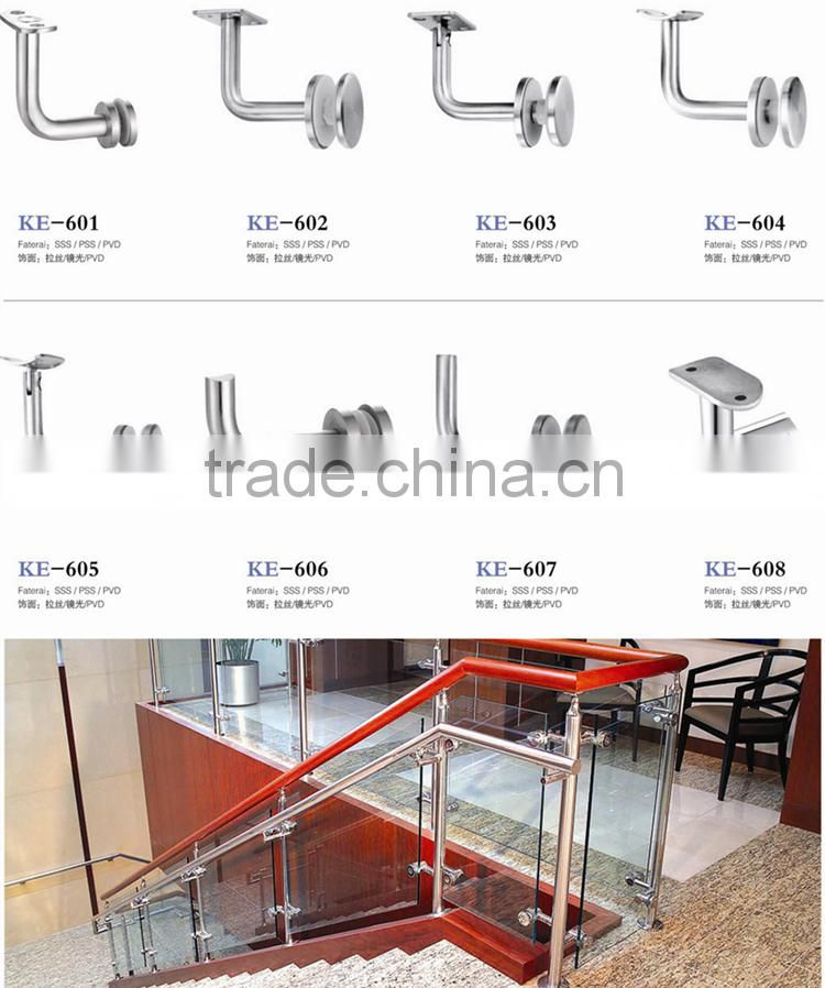 Stair Stainless Steel Baluster Movable Badminton Railing Post