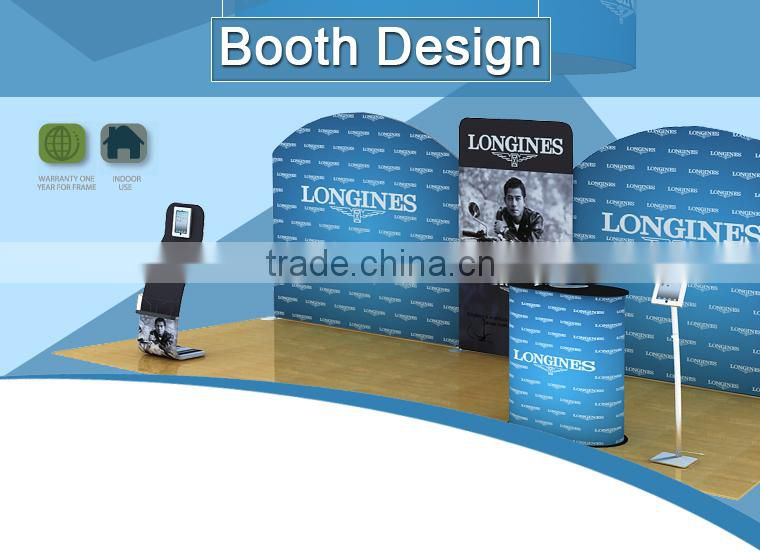 Exhibition Booth Cost : Popular system kit cost effective promotional trade show indoors