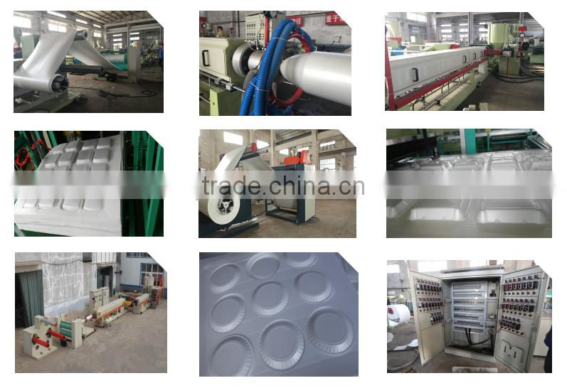 High efficiency PS automatic ps foam food container making machine
