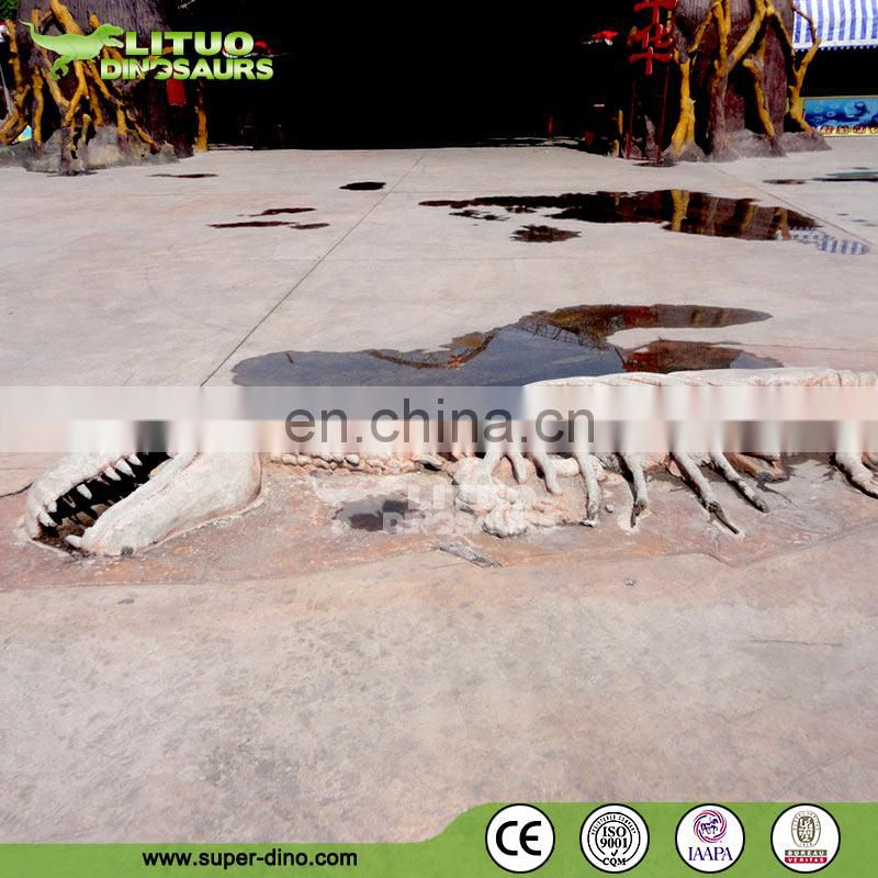 Rock Emergent Dinosaur Fossil Replica