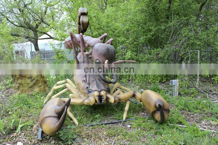Theme park decor model scorpion and ant model