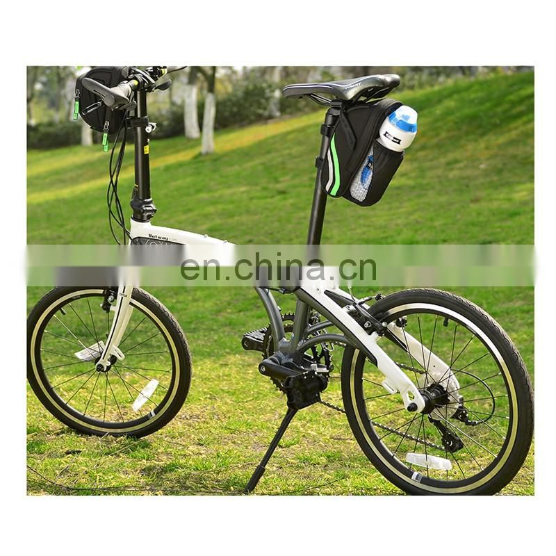 wholesale waterproof bicycle seat bike frame saddle bag