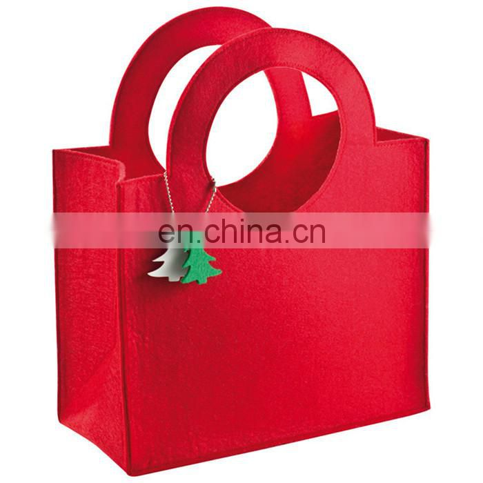 Promotional cotton Non Woven Bag/Non woven Shopping grocery Loop Tote Bag BAG086