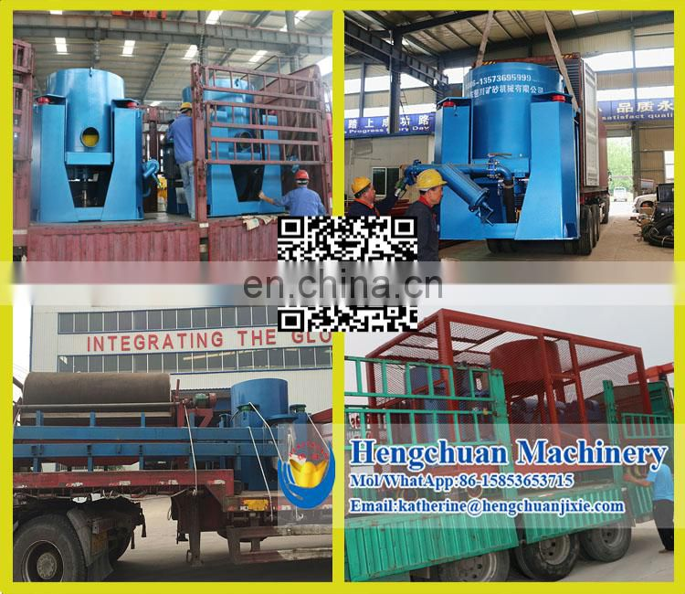 China Supplier Automatic Discharge Polyurethane Latest Technology Centrifugal Gold Concentrator Bowl