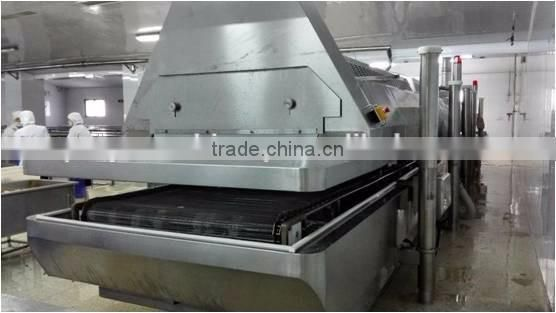 Frozen Vegetable And Fruit Production Line Raspberry Frozen Product Line Iqf Raspberry Tunnel Freezer