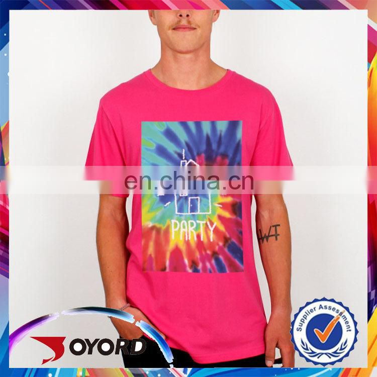 Quickly dry wholesale new design custom t shirt printing