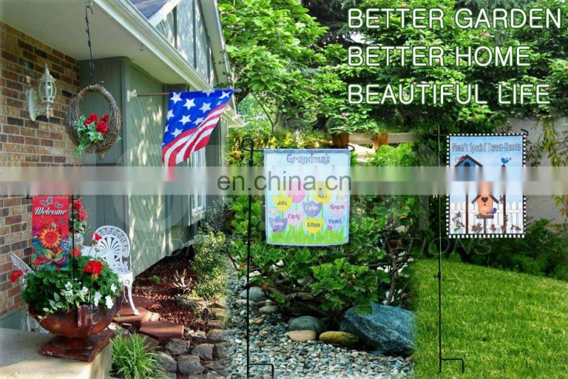 double layer promotion custom decorative flags for home