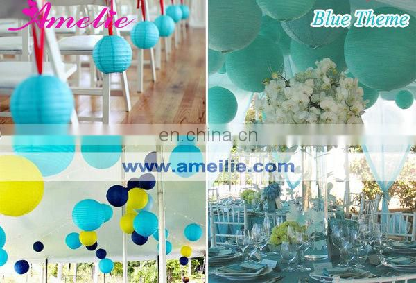 A44PL Decorating Paper Lanterns for Table Centerpieces