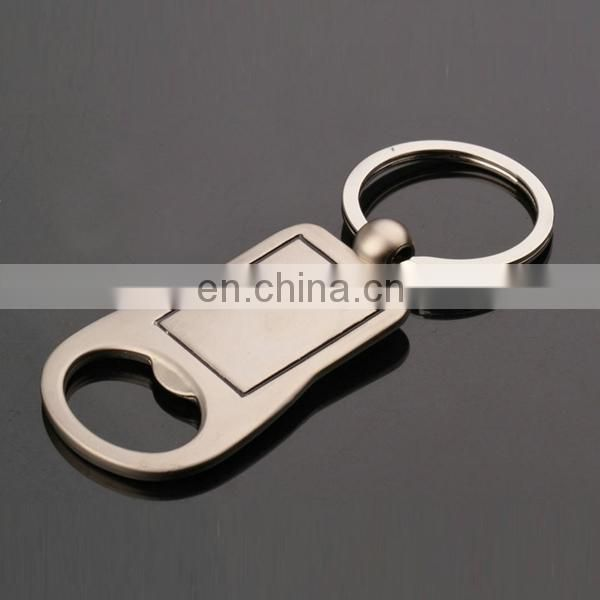 CUSTOMIZED FACTORY PRICE STAINLESS KEYRING BOTTLE OPENER