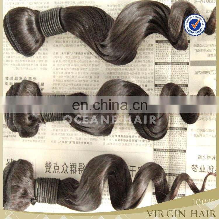 Luxury high quality best grade loose wave asian products wholesale virgin unprocessed sew in human hair extensions
