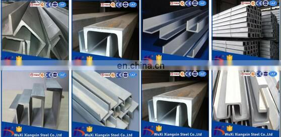 reasonable price 1.4372 201 stainless steel channel bar 304