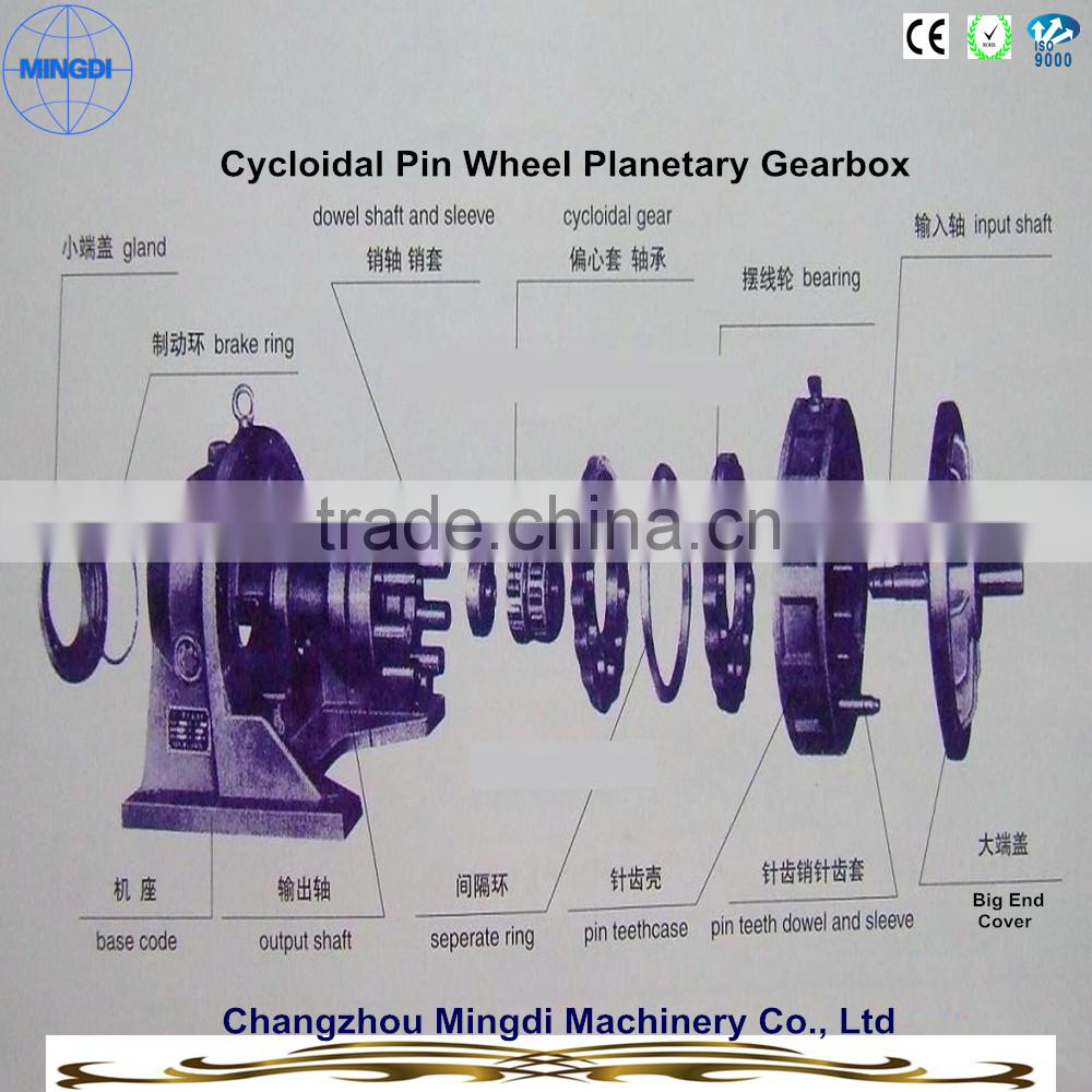 wind turbine generator X/B Planetary Cycloidal Pin wheel