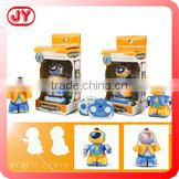 Top quality battery operated plastic toy moving robot