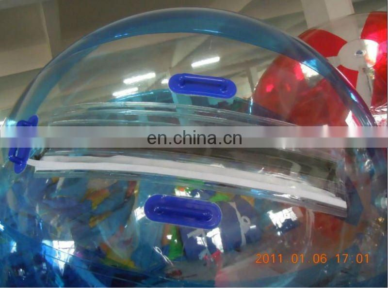 colorful inflatable water ball/inflatable walk on water ball