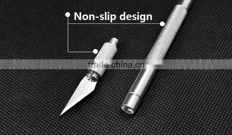 WLXY WL-9307 SK-5 Blade Blades Non-Slip Metal Scalpel Knife Tools Kit Cutter Engraving Craft knives sculpture carving