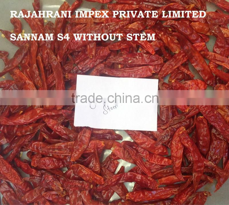 Sannam S4 Indian Chilli with Quality