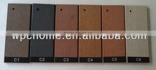 Anti-skid wpc decking tile for personal style