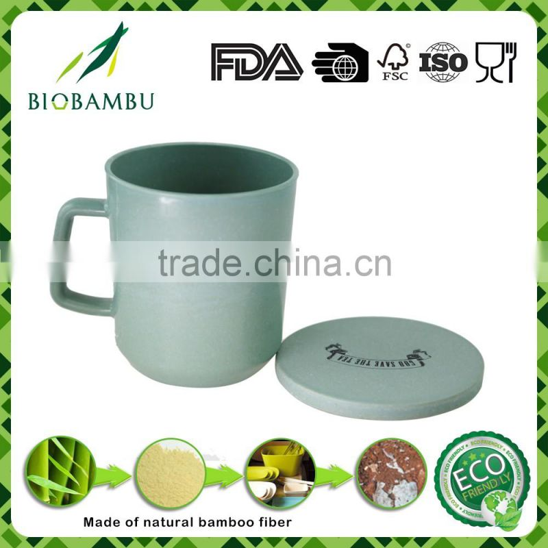 Traditionary Biological Cheap Bamboo Fiber Coffee Cup Mugs