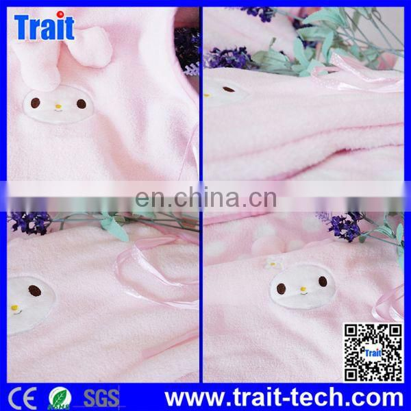 3D Cute Cartoon Soft Coral Fleece Plush Air Conditioning Blankets Baby Bedding
